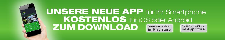 Banner für App
